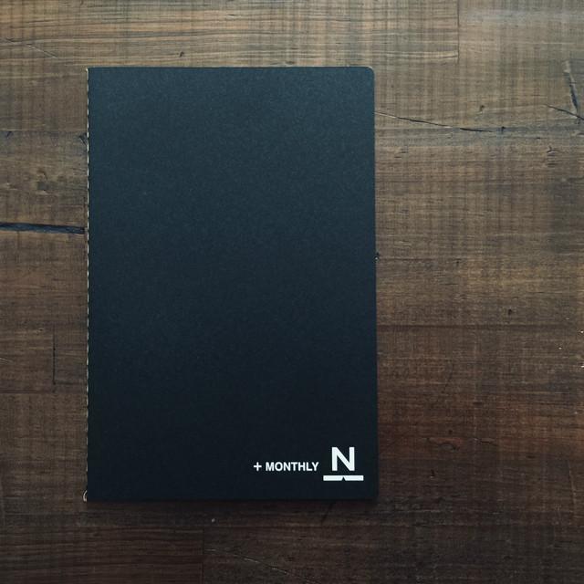 2020ノンブルノート「N」+MONTHLY(マンスリー帳)※半額
