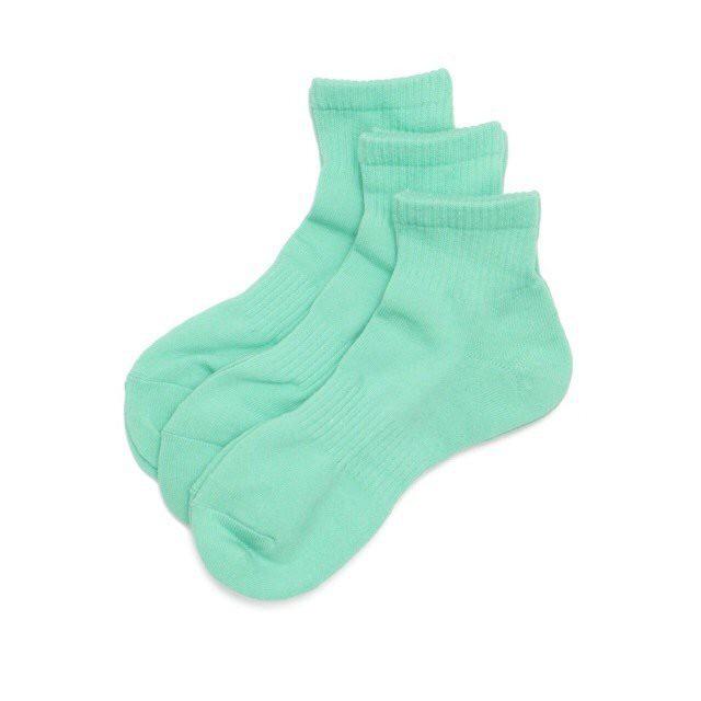 FreshService / ORIGINAL 3-PACK SHORT SOCKS[MINT GREEN / IVY GRAY / HEATHER GRAY]