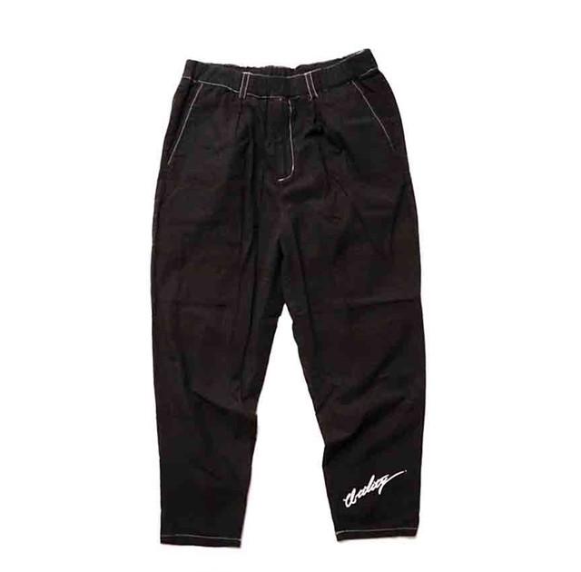 [予約商品]EFFECTEN(エフェクテン) tuck wide denim pants(Bleach)