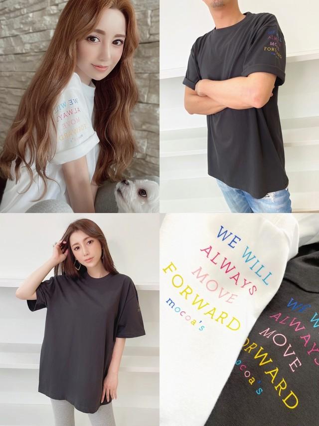 mocoa's WE WILL Tシャツ ¥5,200+tax