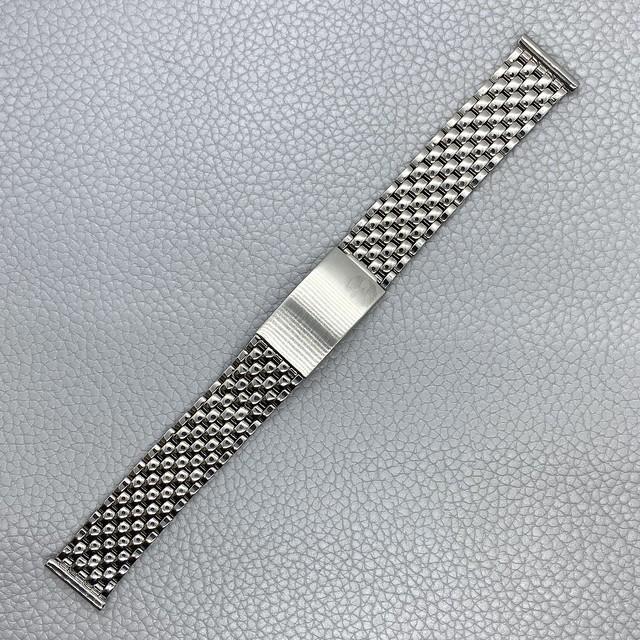 VAGUE WATCH Co. 時計ベルト ヴァーグ ウォッチ ステンレスブレス ジュビリー ストレート管 18mm  腕時計ベルト