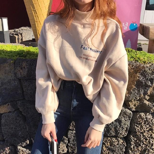 【tops】韓国風ファッション合わせやすいパーカー