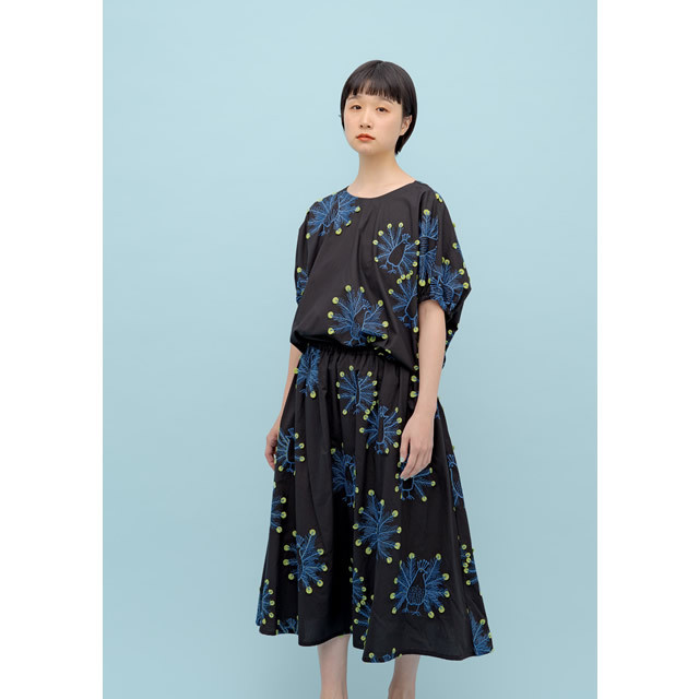 【marblesud】05BS065011 EMB peacock wing BL