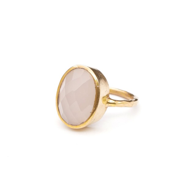 SINGLE STONE NON-ADJUSTABLE RING 008