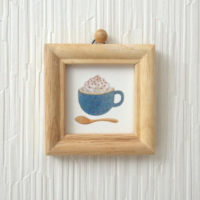 小さな複製画 *朝のコーヒー