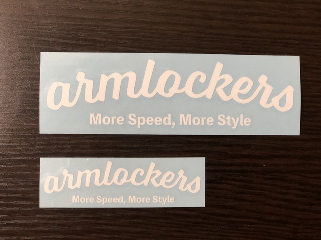 Decal second - Curve [Small] - Armlockers