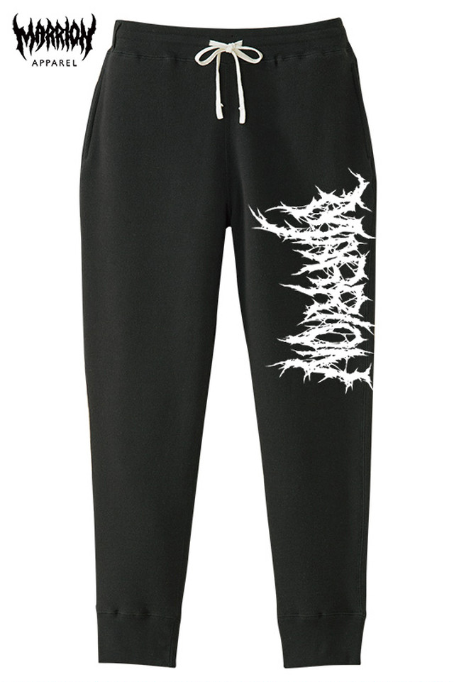 Killer Marrion Logo Pants (Black×White)