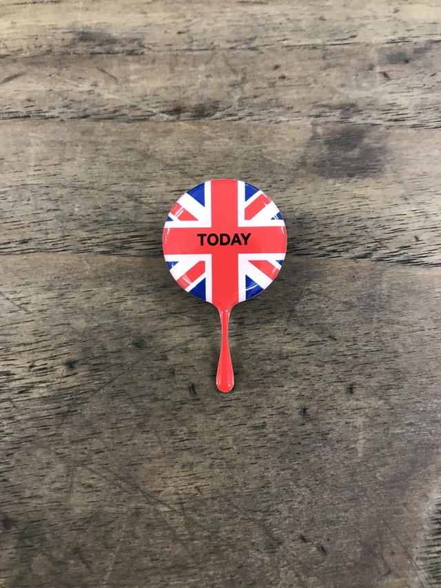 TODAY edition / TODAY DRIPPIN small(UNION JACK)