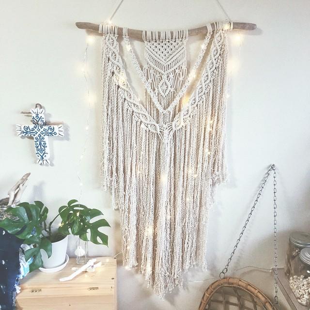 Macrame tapestry - boho -