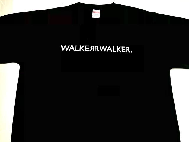 WALKWE-WALKER ロゴTシャツ