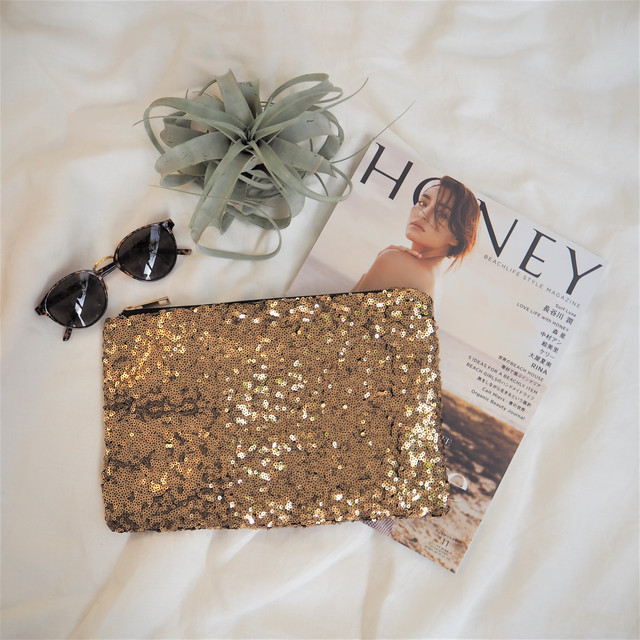 Spangle Clutch Bag《GOLD》17380669(S)★