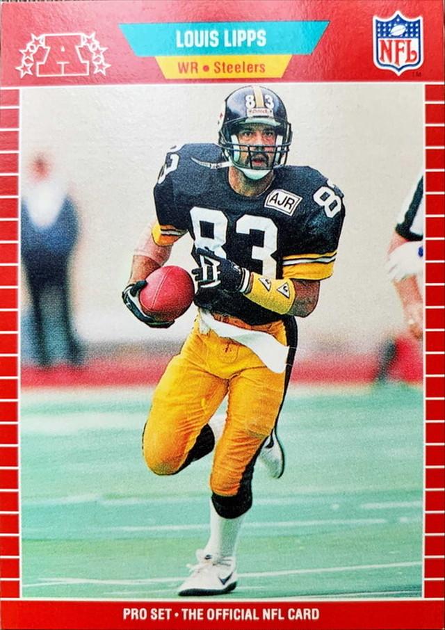 NFLカード 89PROSET LOUIS LIPPS #351 STEELERS