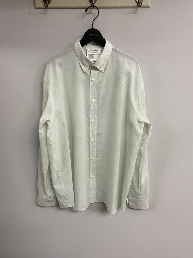 DIGAWEL / Floral Pattern Shirt(GREEN)