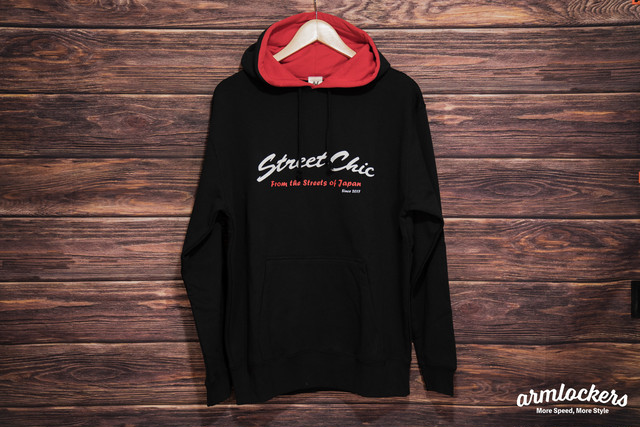 Crew - Hoodie [RED] StreetChic