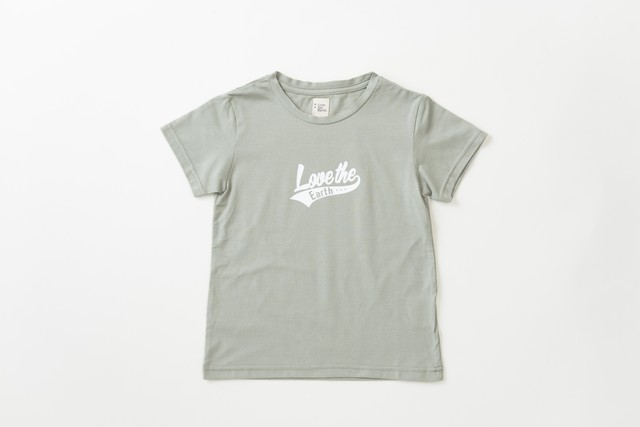 LtEロゴプリントTシャツ(ライトカーキ)