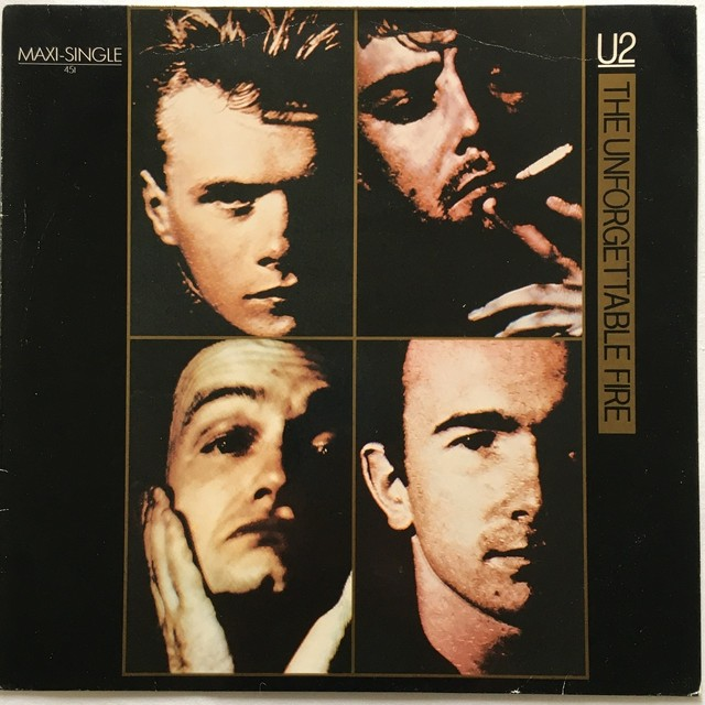 【12inch・独盤】U2 / The Unforgettable Fire