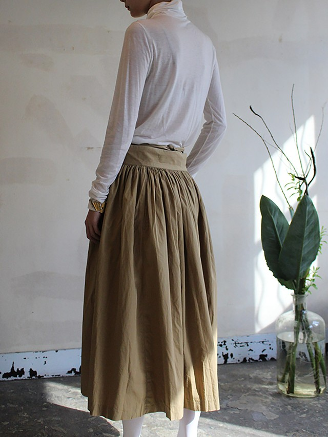 80s french vintage skirt