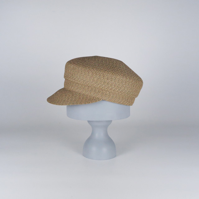 SS20-BE-1 Paper Braid Marin Cap BEG