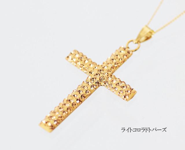 evokeGold ネックレス クロス/ビッグ(ENG005)