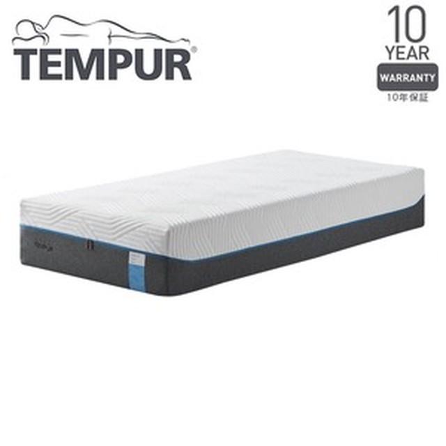 TEMPUR やわらかめ 低反発マットレス  セミダブル『クラウドリュクス30 〜厚みのあるテンピュールESによって贅沢で上質な寝心地〜』 正規品 10年保証付き【代引不可】
