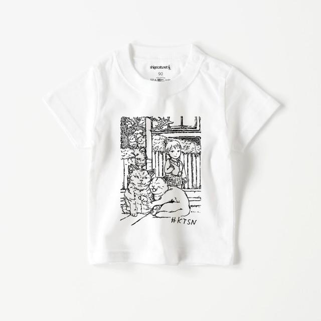 #KTSN×dechi ベビーTシャツ