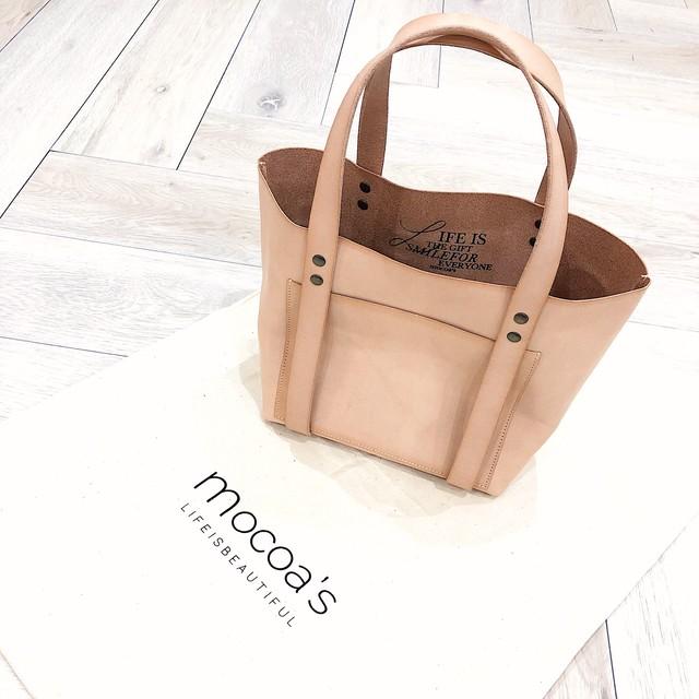 mocoa'sレザーバッグ  ¥25,000+tax