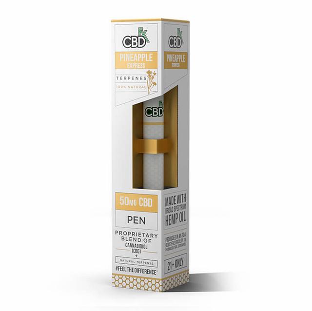 CBDfx パイナップルエキスプレス - CBD Terpenes Vape Pen 50mg