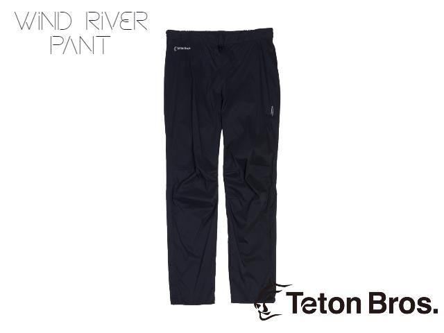 【teton bros】 MS Wind River Pant BLK (Black)