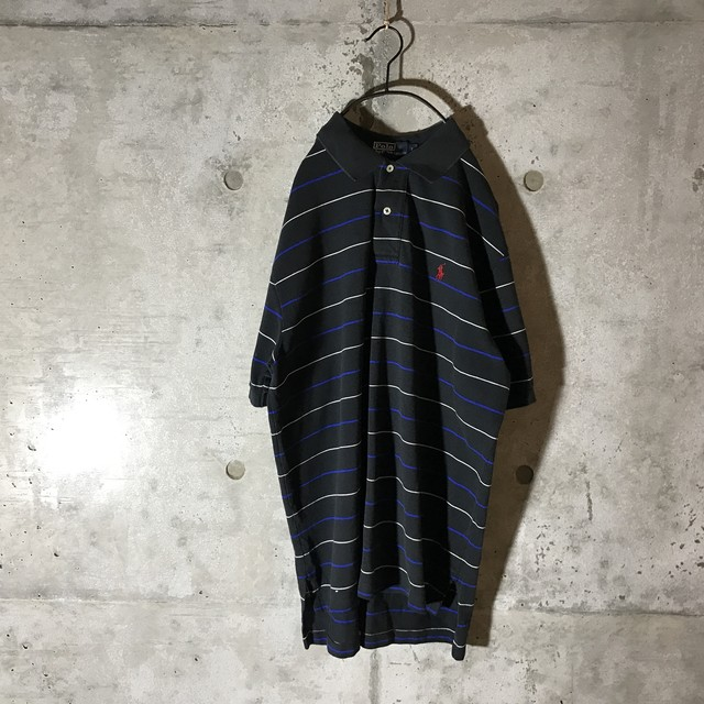 [used] thick striped shirt