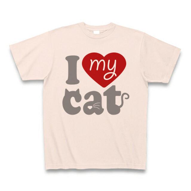 I love my cat -light pink-
