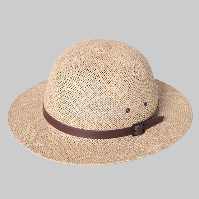 ChahChah×Solaris Safari Hat-NATURAL