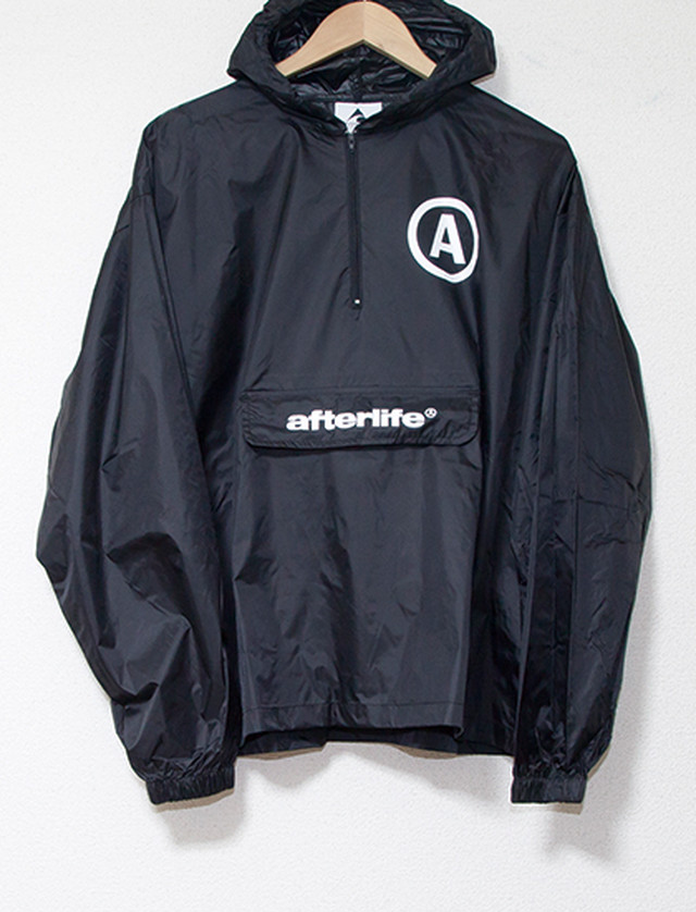 【AFTERLIFE】Breaking Point Windbreaker (Black)