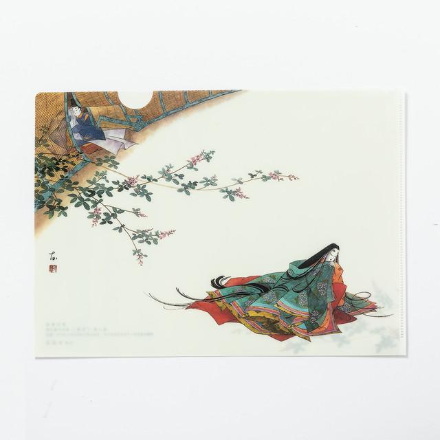 源氏物語クリアファイル 3帖「空蝉」