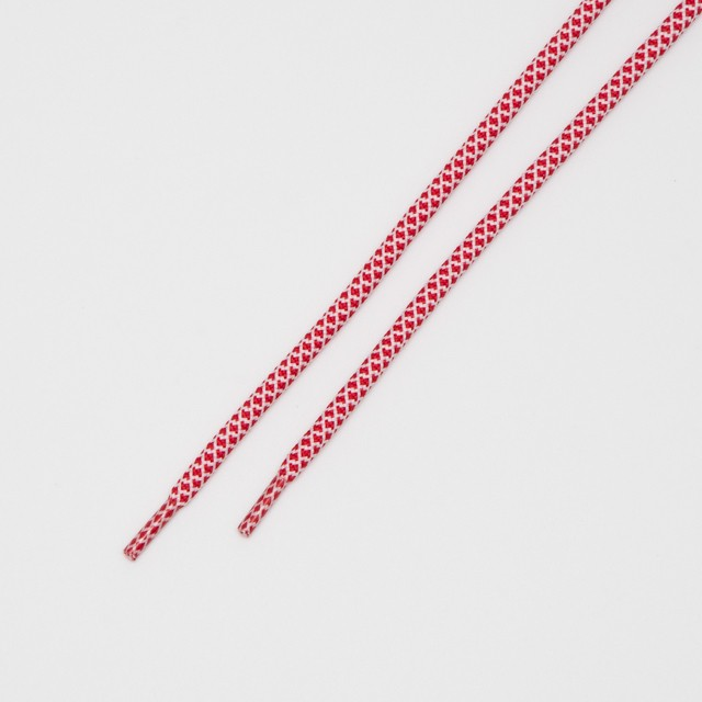 """ROPE LACES MIX """"RED/WHITE"""""""