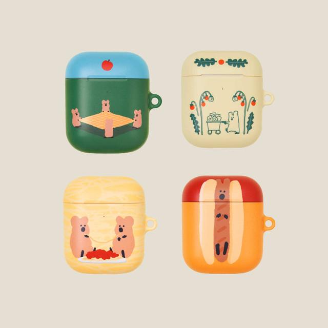 [DINOTAENG] Airpods ハードケース(全4種)
