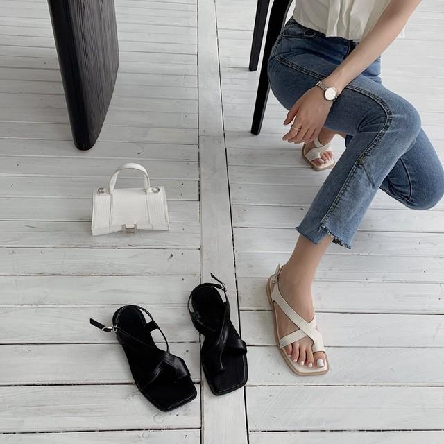 Square toe  sandal KRE933