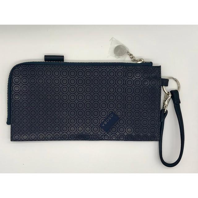 WalkWith ネイビー【OSOBA 3way wallet】