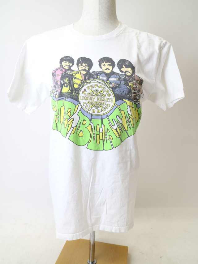 THE BEATLES print tee【1189】