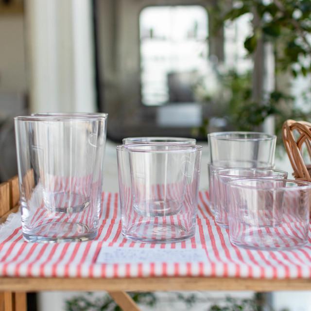 たっぷり入る!食洗機&レンジOKなシンプルガラス食器 | ボデガグラス500/2点set