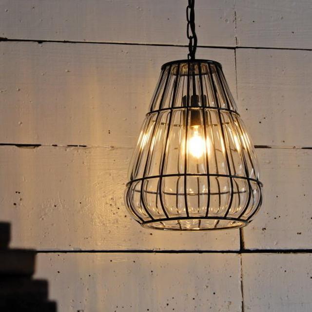 TOPANGA Lighting ブロウコーンガラスランプ