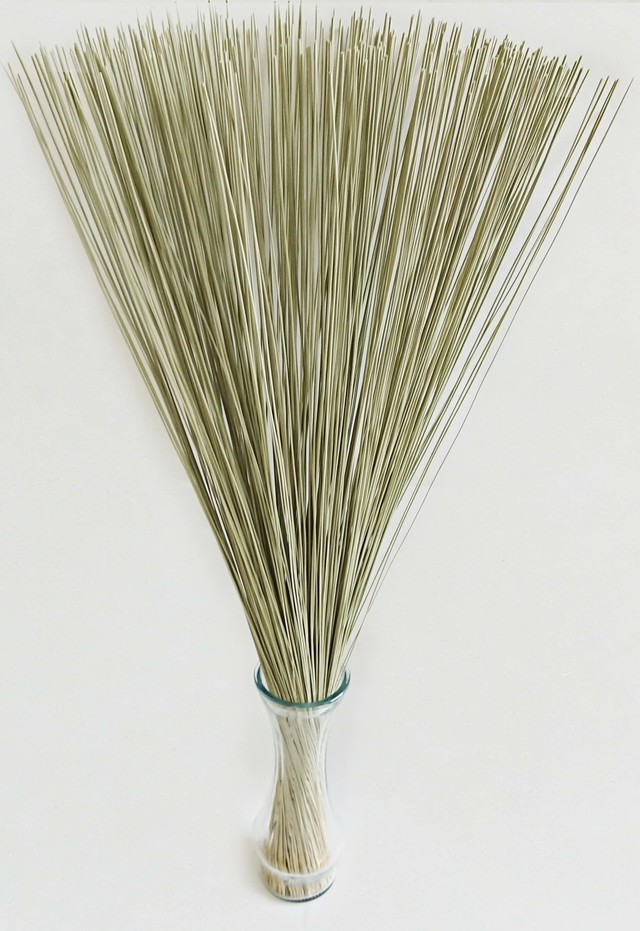 【イ草フラワー 生成】Rush Grass Flower Kinari 70cm