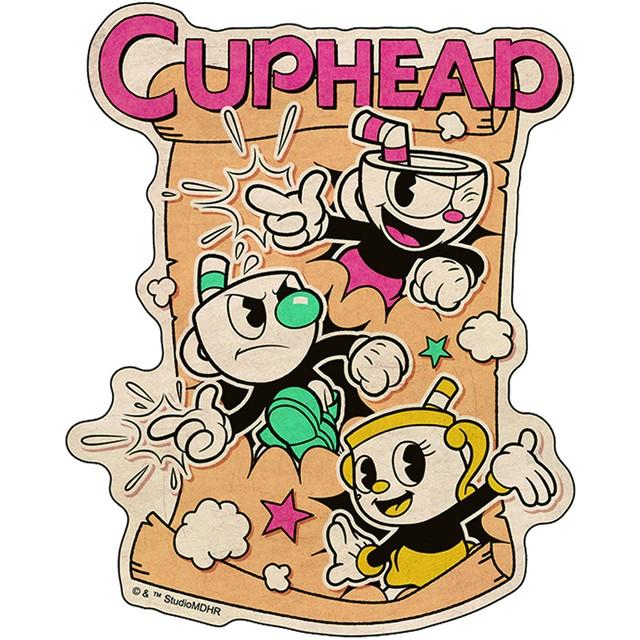 CUPHEAD ( カップヘッド ) トラベルステッカー⑫ / エンスカイ