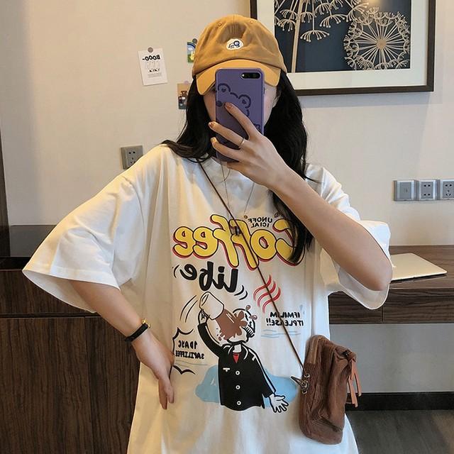 2020SS カラフルプリントTシャツ