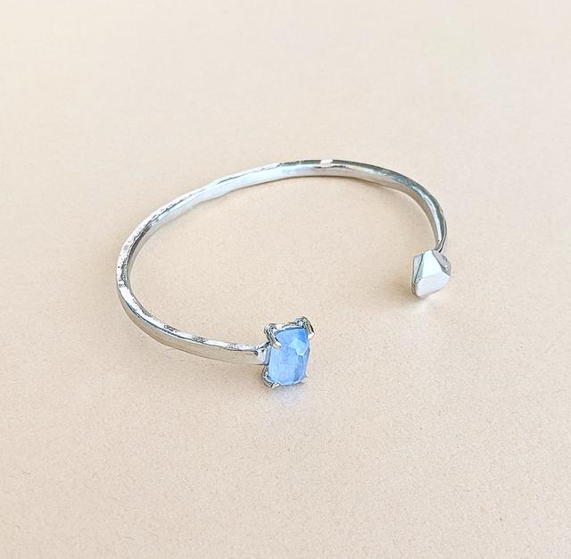 Blue beryl Bangle