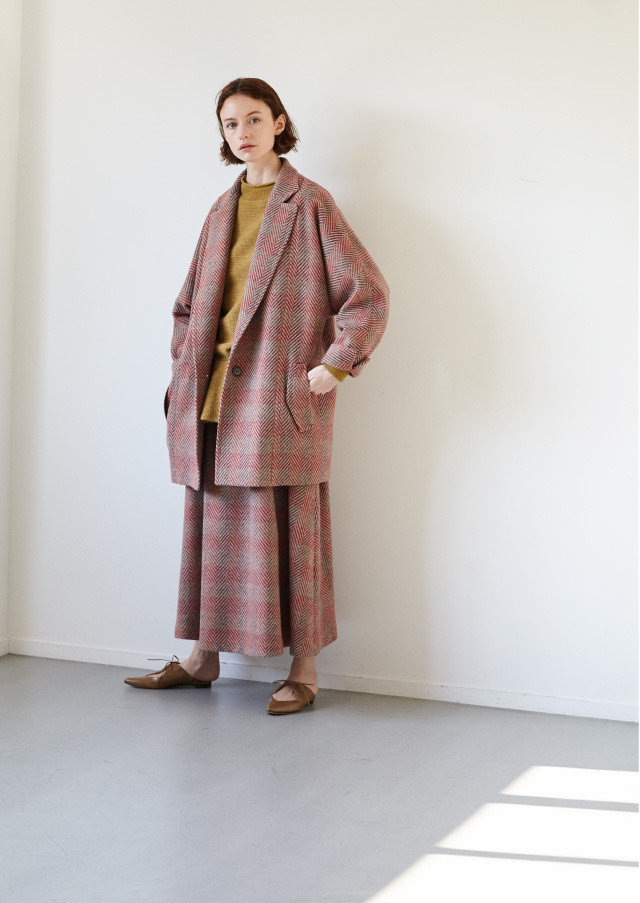 Herringbone Single 1B coat