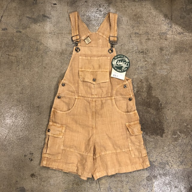 Gramicci Hemp Shortalls ¥7,400+tax
