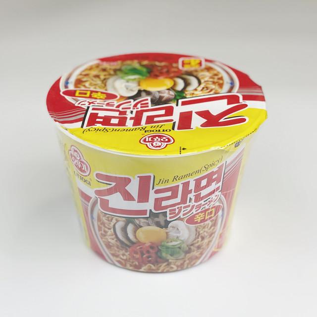 韓国の人気ラーメン ジンラーメン