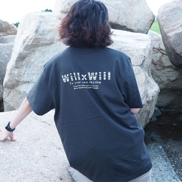 "WillxWill ""own rhythm"" T-shirts Sumikuro"