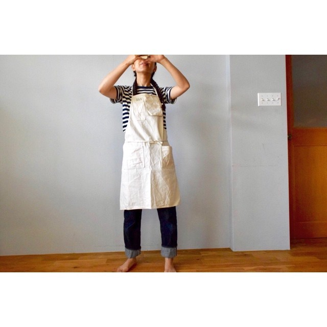 Simva129-0001 Denim Apron