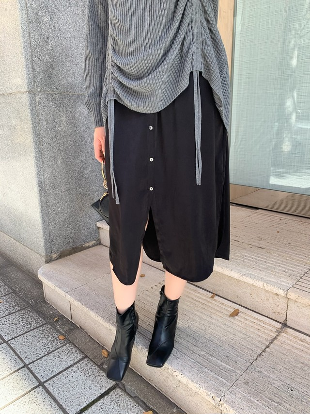 inner layered onepiece / black (即納)